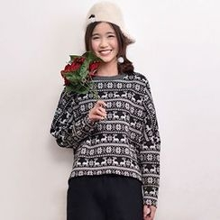Yammi - Patterned Pullover