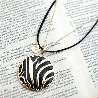 CatWorld - Two-Tone Disc Necklace