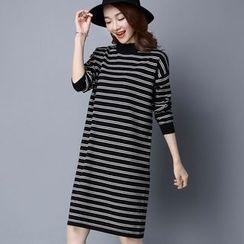 Romantica - 条纹针织裙衣