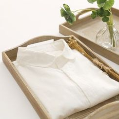 布丁坊 - 纯色衬衫