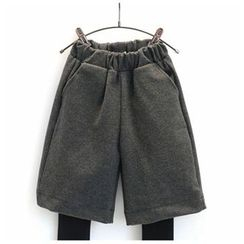 Rakkaus - Kids Mock Two Piece Wide-Leg Pants