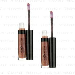 Max Factor 蜜丝佛陀 - Vibrant Curve Effect Lip Gloss - # 12 Urban Queen (Duo Pack)