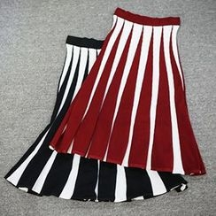 Doll House - Striped Maxi Skirt