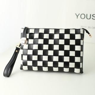Youshine - Patterned Clutch with Strap