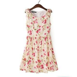 LULUS - Floral Tank Dress