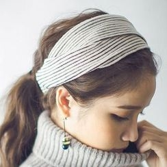 Hello Girl - Ribbed Knot Head Band