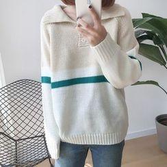 Dute - 插色毛衣