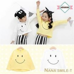 nanakids - Kids Smile Print T-Shirt