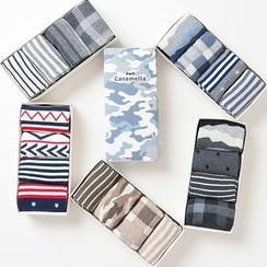 Knit a Bit - Patterned Socks 4 Pairs