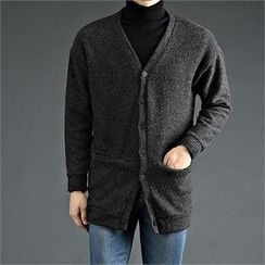 THE COVER - Rib-Knit Cardigan