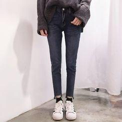 YUKISHU - Washed Skinny Jeans