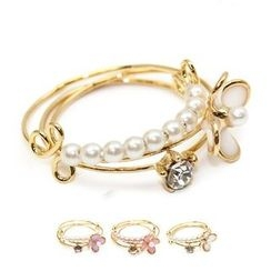Cometto - Flower Layered Bangle