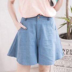 Tokyo Fashion - A-Line Denim Culottes