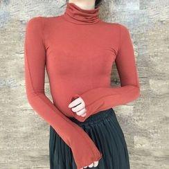 Lokin - Plain Long Sleeve T-Shirt