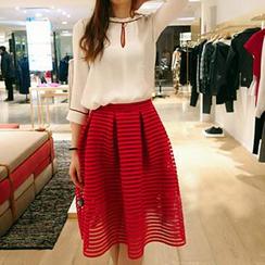 Athena - Pleated Skirt