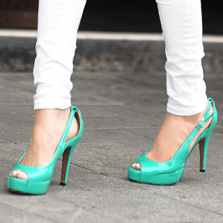 yeswalker - Peep-Toe Pumps
