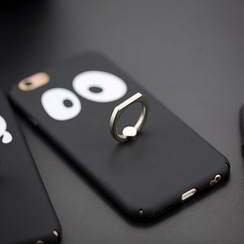 Cartoon Face - Mobile Ring Cartoon Case - iPhone 6 / 6 Plus
