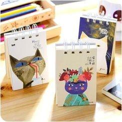 VANDO - Spring Cat-Print Notebook (Small)