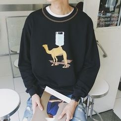 Mr. Cai - Printed Pullover
