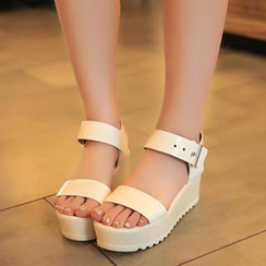 Zandy Shoes - Wedge Sandals