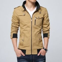 RUYA - Stand-Collar Zip Jacket