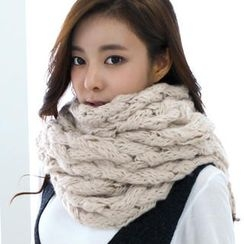Cuteberry - Cable-Knit Scarf