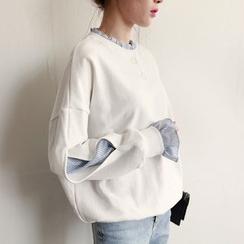 MayFair - Cutout-Sleeve Pullover