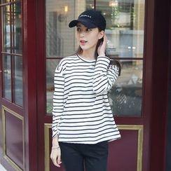 Envy Look - Crewneck Striped T-Shirt