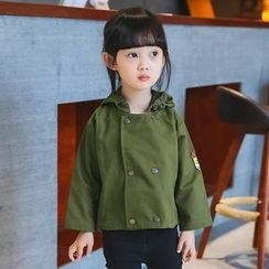 Merry Go Round - Kids Hooded Trench Jacket
