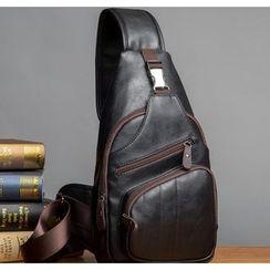 TESU - Faux Leather Sling Bag