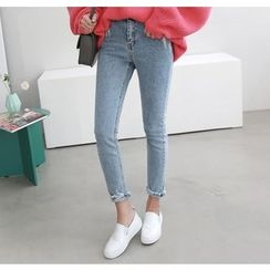 Miamasvin - Washed Skinny Jeans
