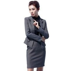 Aision - Blazer / Paneled Blouse / Skirt / Pants