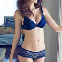 Melanie - Set: Embroidered Bra + Panties
