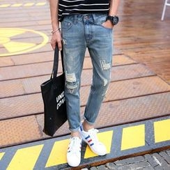 Keerme - Washed Jeans