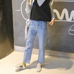 Anlay - Tapered Cropped Jeans
