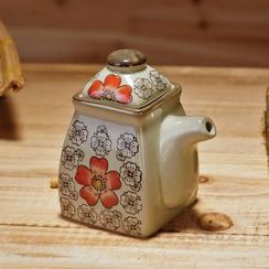 Time4Tea - Floral Print Ceramic Seasoning Container