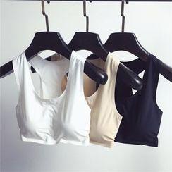 Tiny Times - 純色運動胸衣