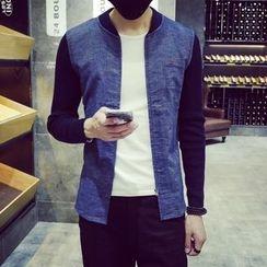 Belinsky - Knit Sleeve Zip Jacket