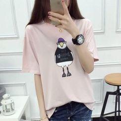 anzoveve - Print T-Shirt