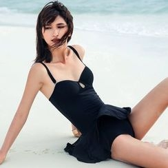 Zeta Swimwear - Plain Swimdress