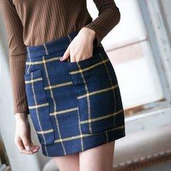 Dowisi - Plaid Skirt
