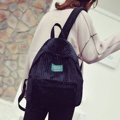 Clair Fashion - Corduroy Backpack