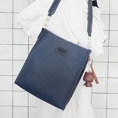 優尚良品 - 套裝: 雙色單肩包 + 斜挎包
