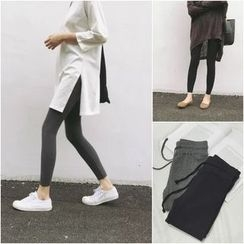 YOSH - Ribbed Drawstring Leggings