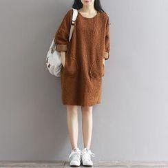 Fancy Show - Long-Sleeve Fleece Dress