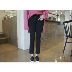 Envy Look - Fleece-Lined Boot-Cut Pants