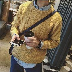 ZZP HOMME - 麻花針織毛衣