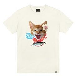 the shirts - Cat Print T-Shirt