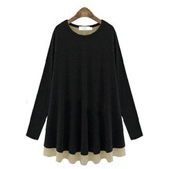Fashion Street - Layered Long Sleeve Top