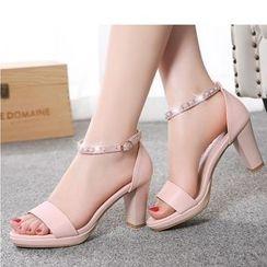Freesia - Block Heel Sandals
